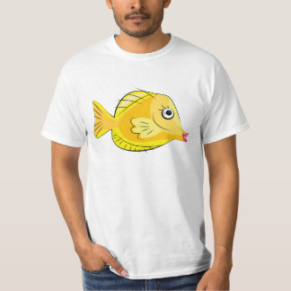 Yellow Tang Tropical Fish Scuba T-Shirt