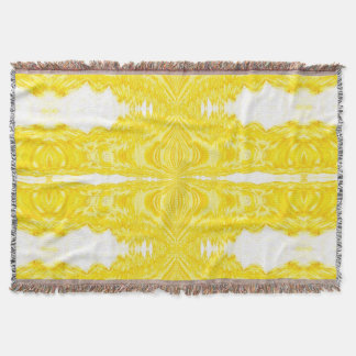 Yellow Tapestry 6 SDL Throw Blanket