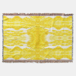 Yellow Tapestry 7 SDL Throw Blanket