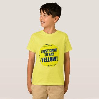 Yellow Team T-shirt