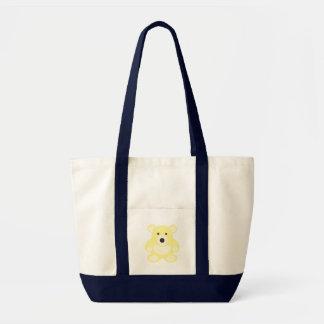 Yellow Teddy Bear Bag