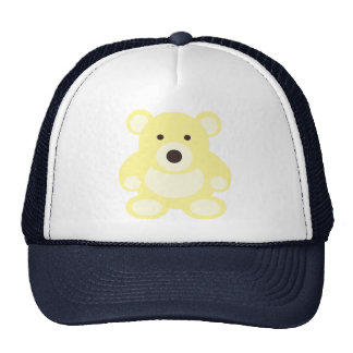 Yellow Teddy Bear Cap