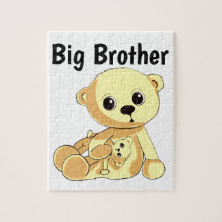 Yellow Teddy Bear Puzzle Personalize