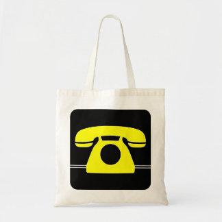 Yellow Telephone Bags