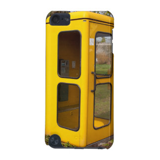 Yellow telephone booth iPod touch (5th generation) cases