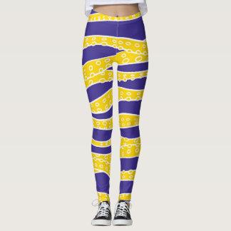 Yellow Tentacles Leggings
