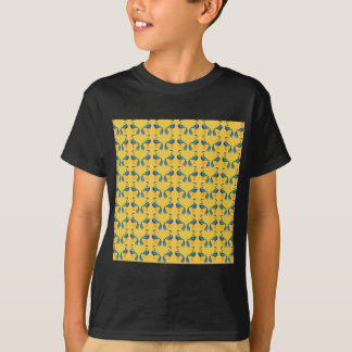 Yellow textile T-Shirt