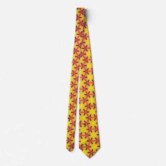 Yellow texture tie