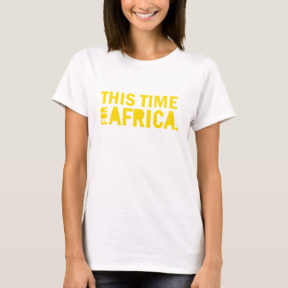 Yellow This Time for Africa Shirt