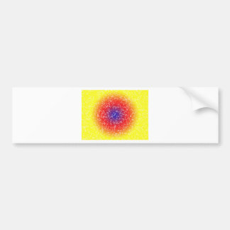 Yellow through he net bumper sticker