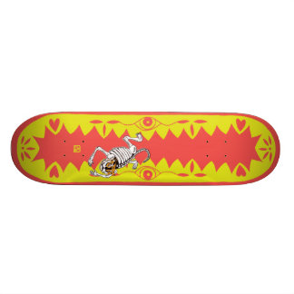 Yellow Tiger 19.7 Cm Skateboard Deck