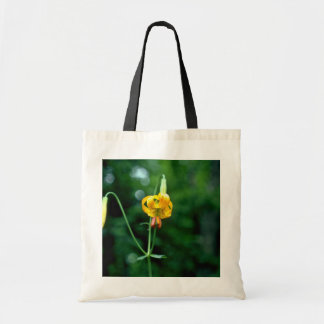 Yellow Tiger Lily flowers Bag