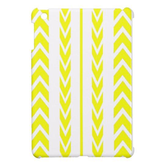 Yellow Tire Tread Cover For The iPad Mini