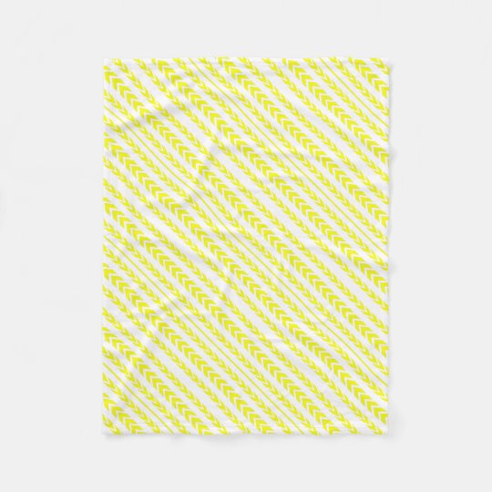 Yellow Tire Tread Fleece Blanket