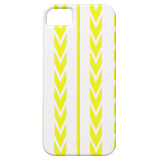 Yellow Tire Tread iPhone 5 Cases
