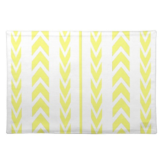 Yellow Tire Tread Placemat