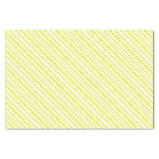 Yellow Tire Tread Tissue Paper