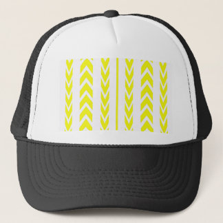 Yellow Tire Tread Trucker Hat