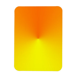 Yellow to Orange Gradient - Customized Template Magnet