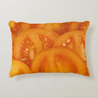 yellow tomato texture photo decorative cushion