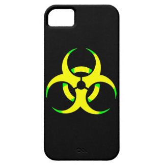 Yellow toxic iPhone 5 cover