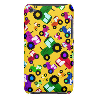 Yellow tractors iPod touch Case-Mate case