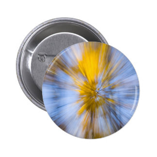 Yellow Tree Pinback Button