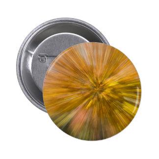 Yellow Tree Streaks II Pinback Button