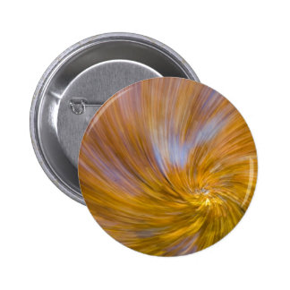 Yellow Tree Swirl Button