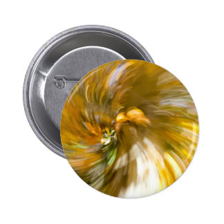 Yellow Tree Swirl s Two Pinback Buttons