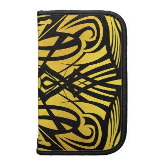 Yellow Tribal Smartphone Folios Organizer