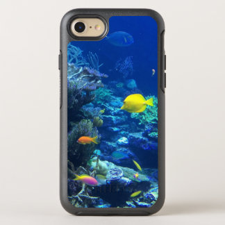Yellow Tropical Fish OtterBox Symmetry iPhone 8/7 Case