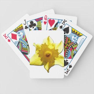 Yellow Trumpet Daffodil 1.0 Poker Deck
