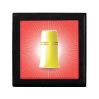 Yellow Tube Gift Box