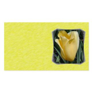 Yellow Tulip Business Card