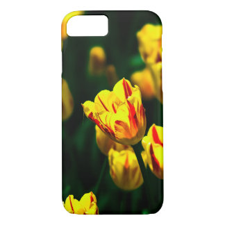 Yellow tulip flowers iPhone 7 case
