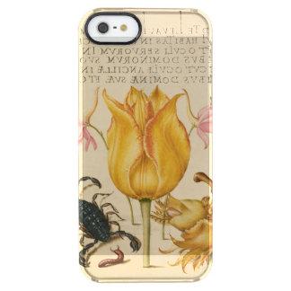 yellow tulip scorpio clear iPhone SE/5/5s case