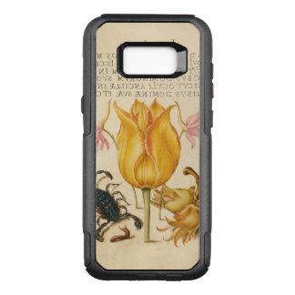 yellow tulip scorpio OtterBox commuter samsung galaxy s8+ case