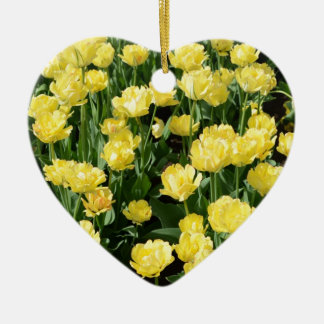 Yellow Tulips Ornament