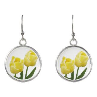 Yellow Tulips Earrings