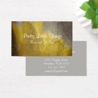 Yellow Tulips Flowers Rustic Florist Gift Shop