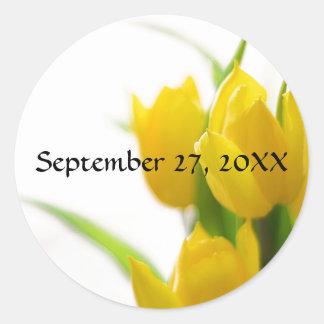 Yellow Tulips - Sticker