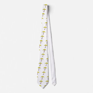 Yellow Umbrella Design Tie