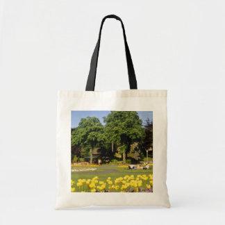 yellow Valley Gardens, Harrogate, England flowers Tote Bag