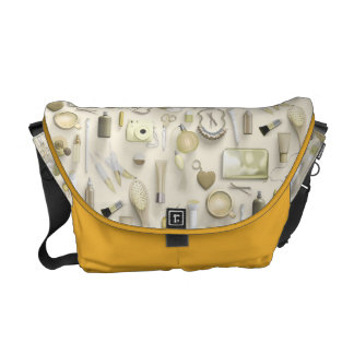 Yellow Vanity Table Commuter Bag