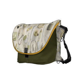 Yellow Vanity Table Commuter Bags