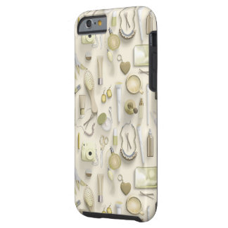 Yellow Vanity Table Tough iPhone 6 Case