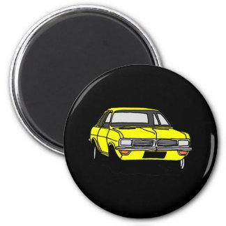 Yellow Vauxhall Viva HC Magnet