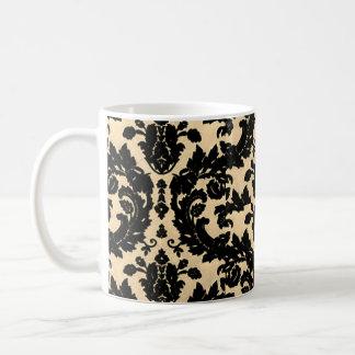 Yellow Velvet Ornament Coffee Mug