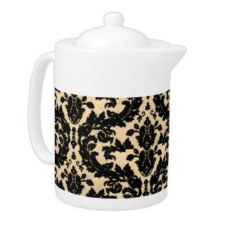 Yellow Velvet Teapot